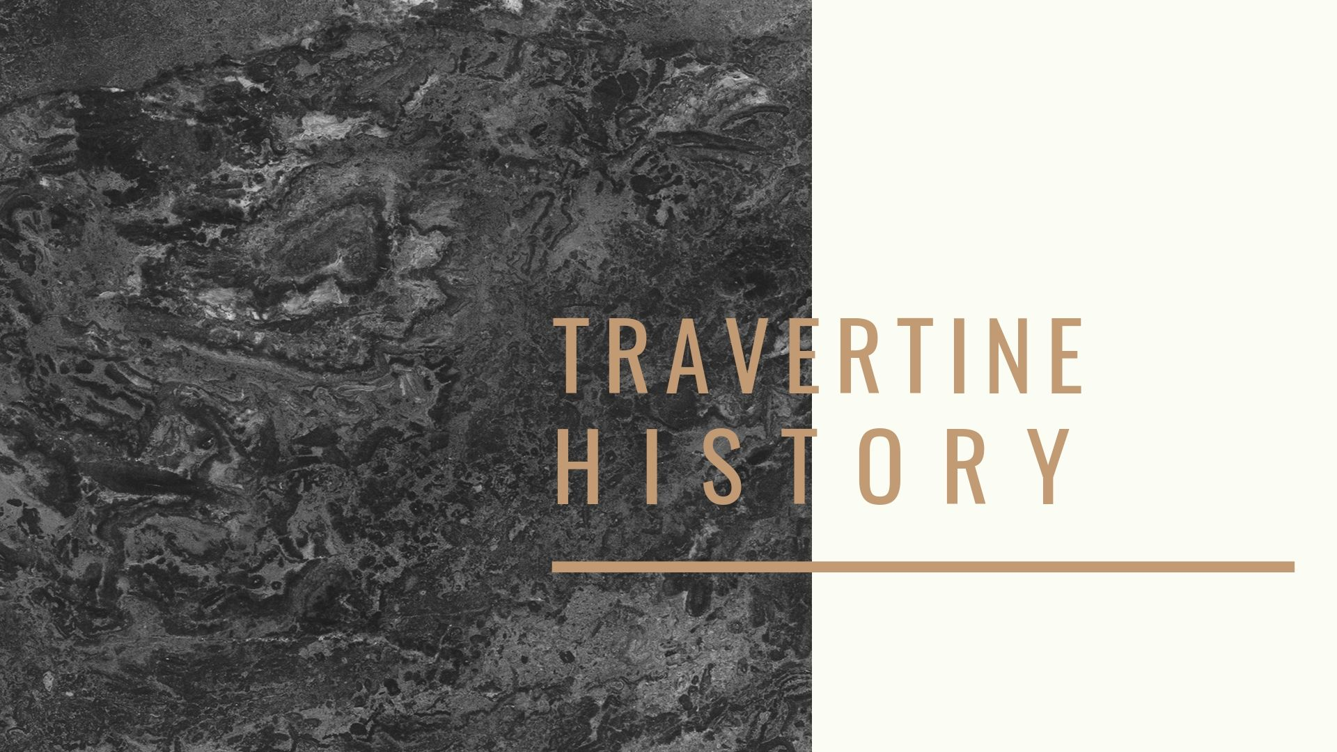 Travertine History and Origin | Turkish Marble Company